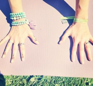 Yoga at V Elements Fest in San Diego <3 instagram: kittypurrin